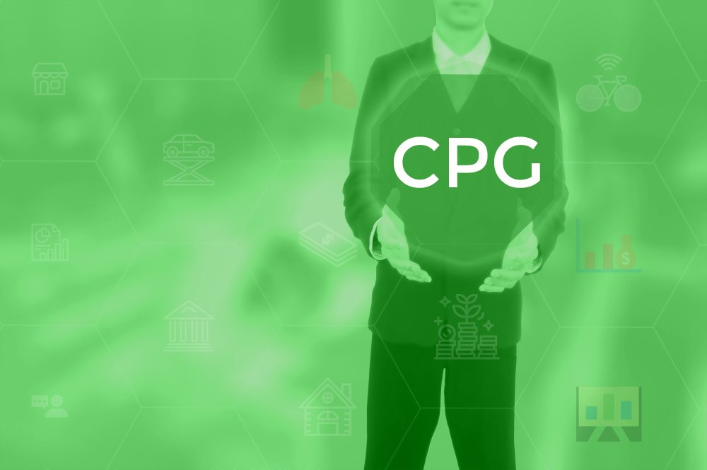 CPG Marketing is Promoting the Sale of Real Consumable Products