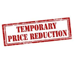 Temporary Price Reductions Requires Thoughtful Wording